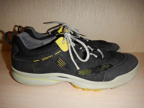 легкие туфли кроссовки мокасины Ecco р.39(25см)