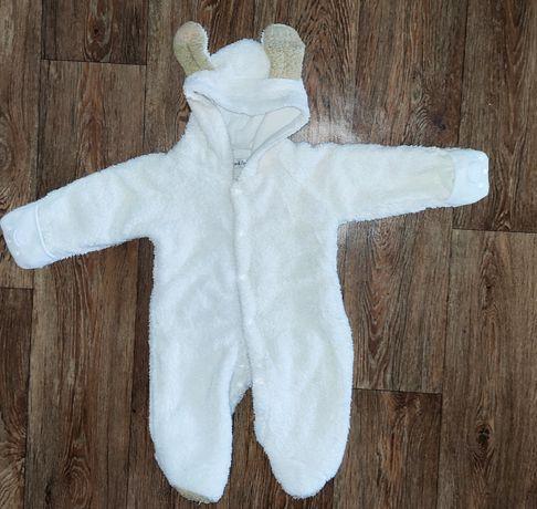 Демисезонный детский комбинезон - человечек для новорожденных