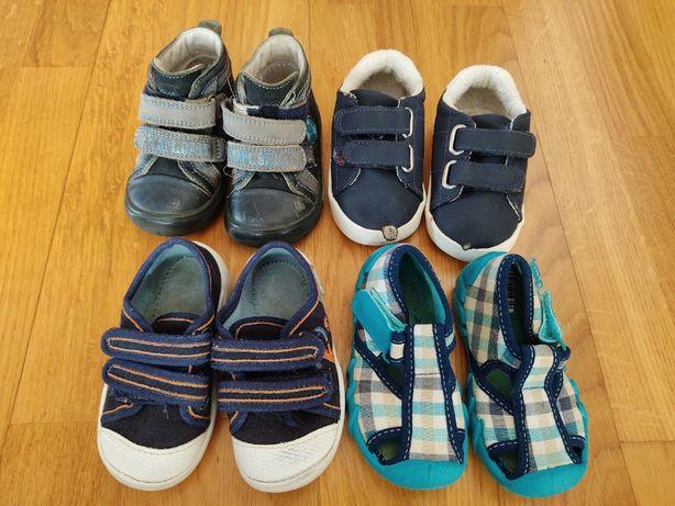 Buciki trzewiki trampki sandałki Bartek Befado H&M chłopiec 20