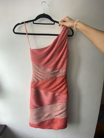 Сукня вечірня на одне плече BCBG xs розмір