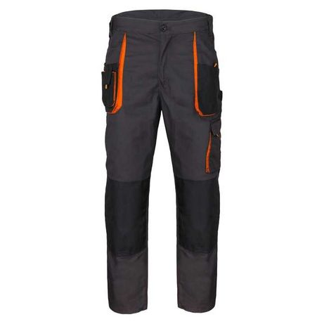 Spodnie robocze od 44 do 60 (XS-5XL) do pasa potrójne szwy