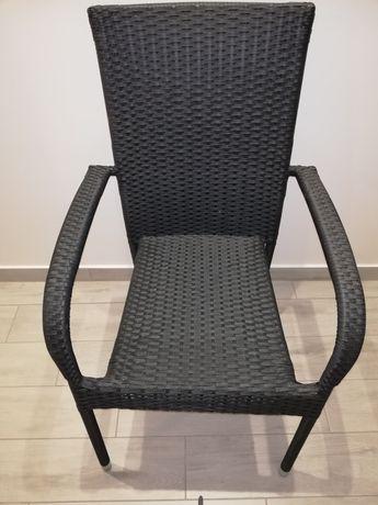 Krzesło ogrodowe z podłokietnikami plus gratis poduszka