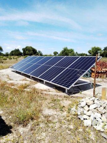 Kit solar 3000w por hora com baterias de lítio