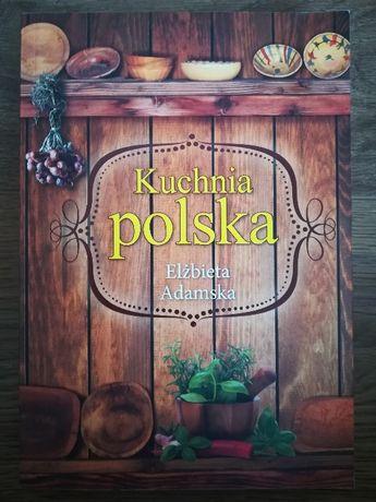 Książka: Kuchnia polska, Elżbieta Adamska, super stan!