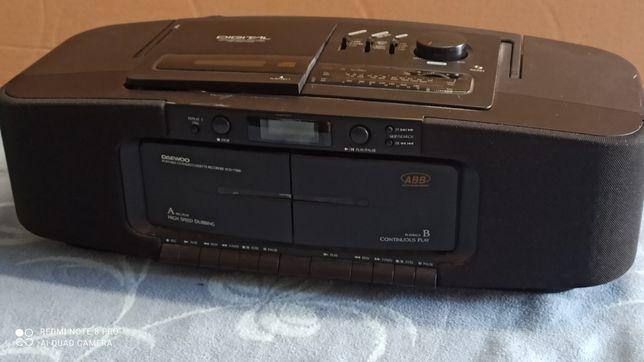 Radio z magnetofonem i CD Daewoo ABB