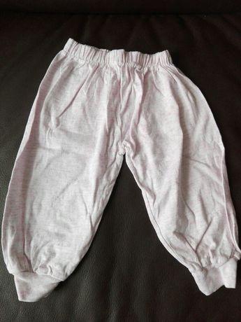Spodnie - getry dziewczęce roz. 74