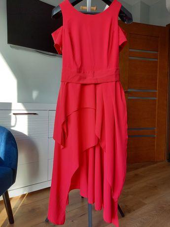 Suknia balowa, czerwona