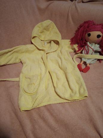 Махровый халат для малыша 1-2 года