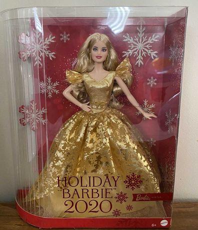 Коллекционная кукла барби Праздничная 2020 Mattel Barbie Holiday