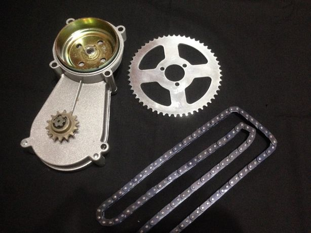 Редуктор на мини мото байк вело велосипед триммер или бензо пилу косу