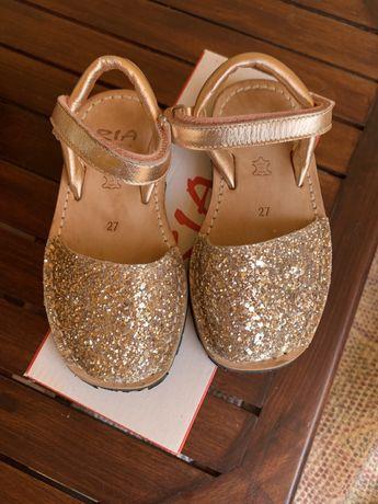 Sandalias glitter - Tamanho 27