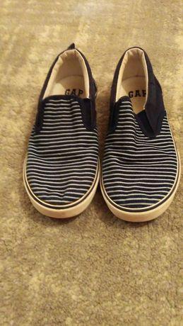 Gap мокасины/обувь для мальчика/19см/ 29 размер тапки в садик