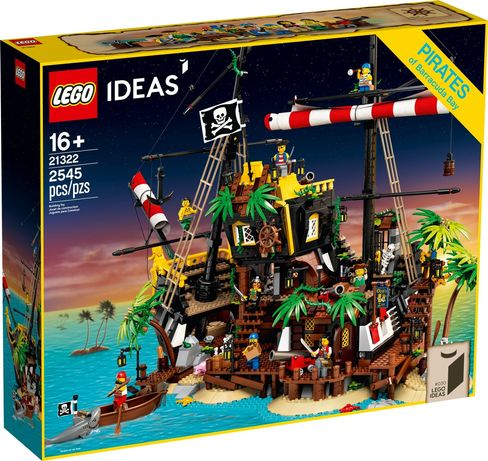 LEGO Ideas 21322 - Piraci z Zatoki Barakud