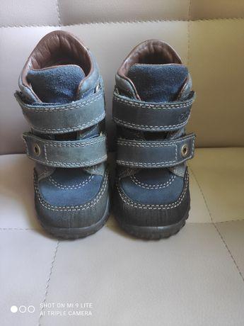 Ботинки кожа Еcco