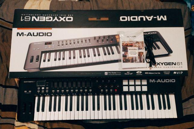Teclado controlador MIDI M-AUDIO Oxygen 61 MKIV