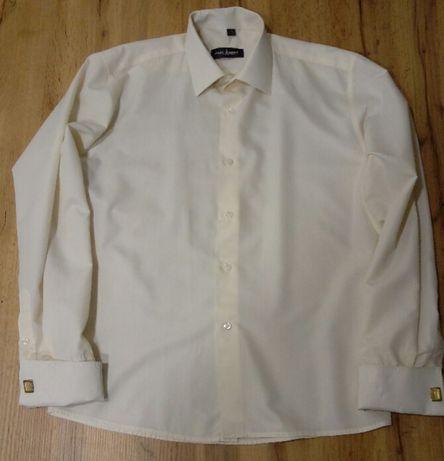 Мужская рубашка Parlament, на запанках, одета 1 раз, размер L (41-42)