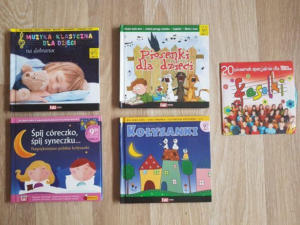Kołysanki, Fasolki, muzyka klasyczna dla dzieci na płytach CD