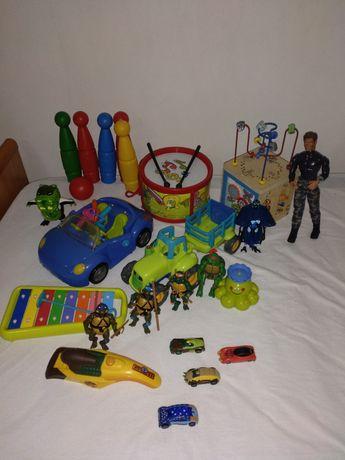 Brinquedos e peluches