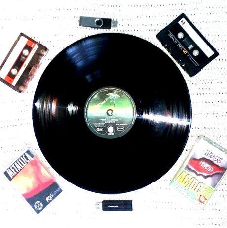 Виниловая музыка на флешке.Оцифровка видео VHS и аудио кассет