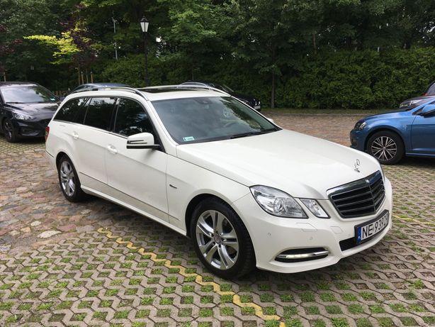 Mercedes W212 E200cgi Avantgarde - pełna historia ASO
