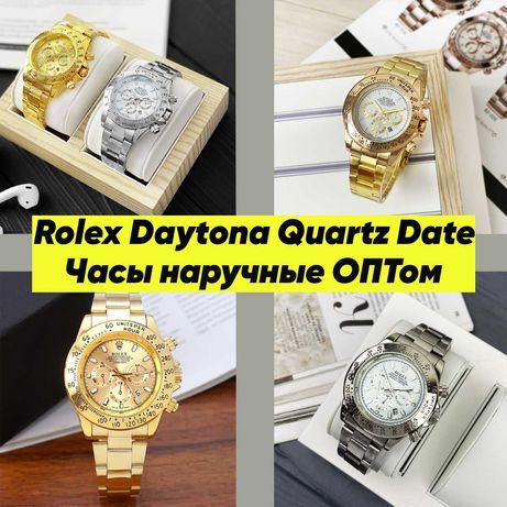 Часы наручные ОПТом. Rolex Daytona Quartz Date.