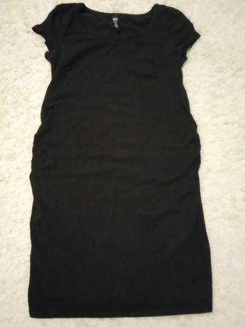 Sukienka ciążowa m h&m czarna