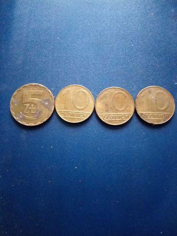 5 złotych monety