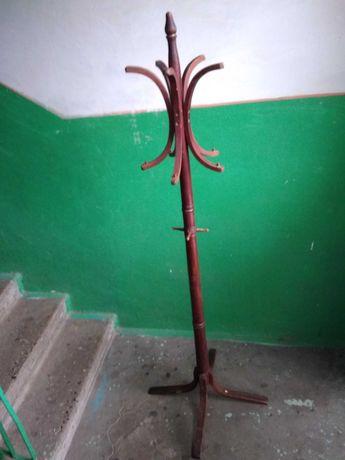 Вешалка напольная стойка старая