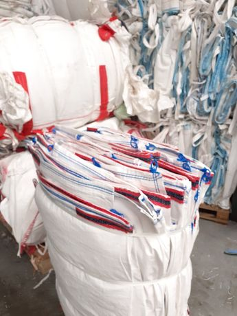 Importer worków typu BIG BAG BEG 1000 kg mocne ! Ze stabilizatorem