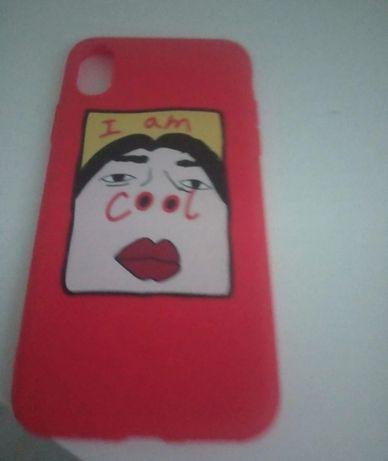 Case czerwony iPhone xr