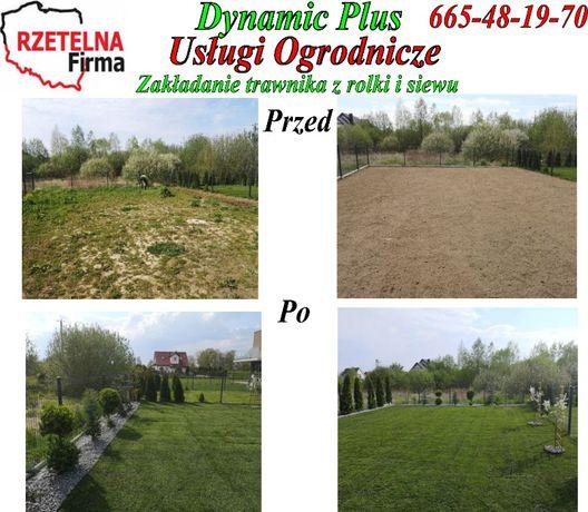 Dynamic Profesjonalne usługi ogrodnicze 7 lat na rynku.