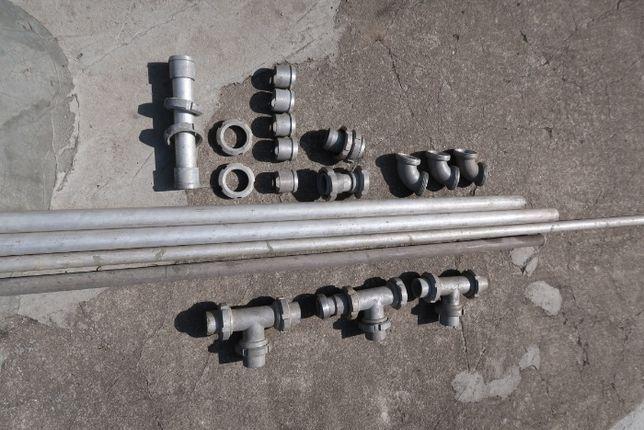 Rury aluminiowe kształtki