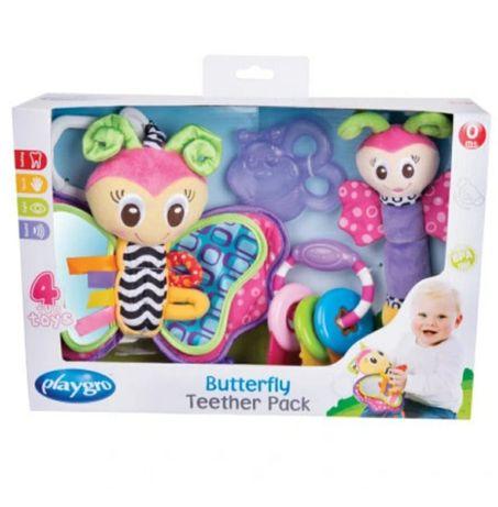 Playgro Motylek zestaw zabawek niemowlęcych zawieszka