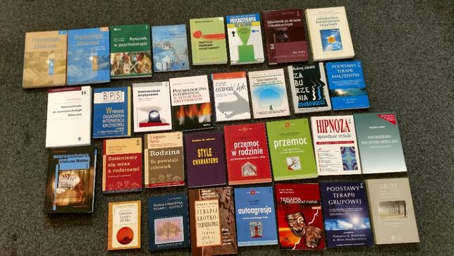 Książki PSYCHOTERAPIA, PSYCHOLOGIA, terapia Aronson, Zimbardo, Strelau