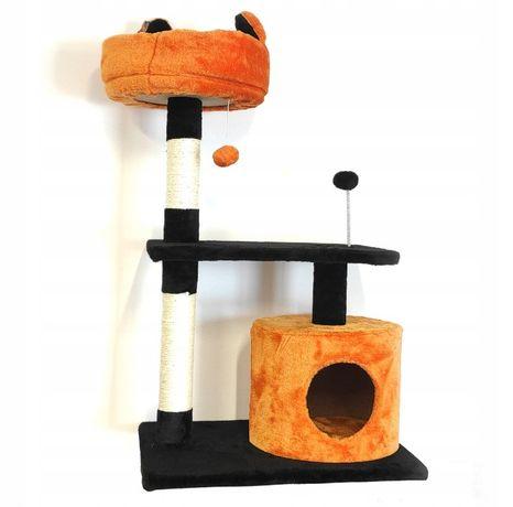 Drzewko drapak legowisko budka dla kota, kotów 85cm