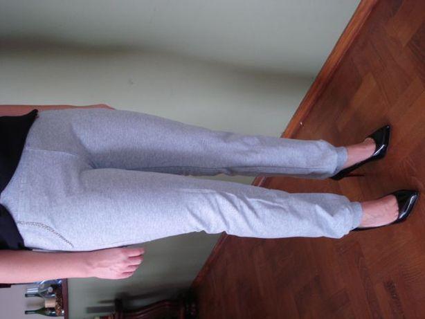 spodnie dresowe nowe damskie szare