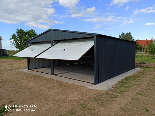 Garaż Blaszak 6x5,8 Profil Zamknięty