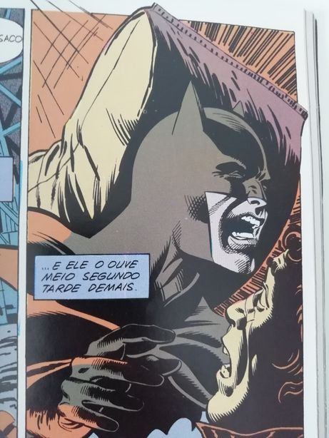 Livro BD Batman vintage edição especial