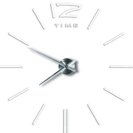 Piękny Zegar Ścienny San Marino Biały