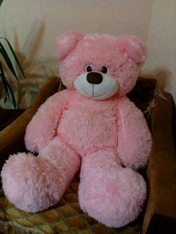 Мишка игрушка розовый