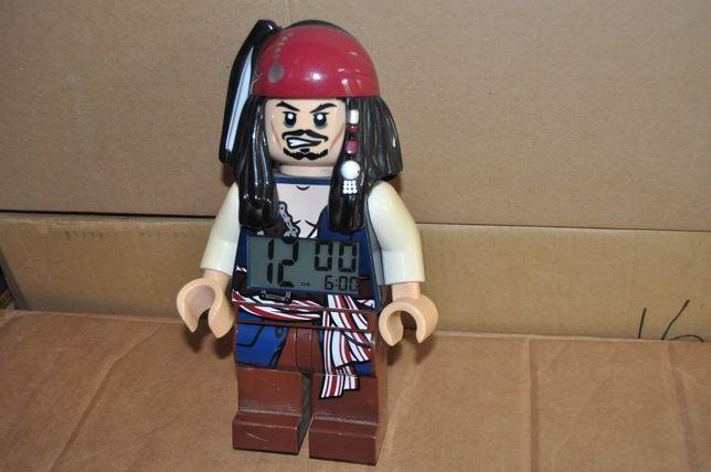 Lego Jack Sparow zegarek budzik