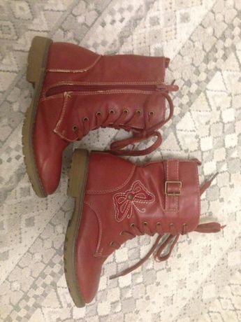 Kozaczki buty zimowe z kożuszkiem NelliBlu rozmiar 29