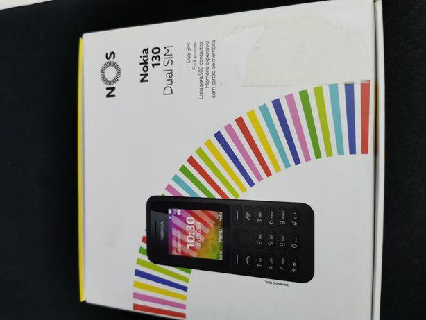 Telemóvel Nokia 130 Dual Sim de teclas