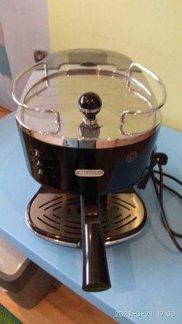 Ekspres do kawy DeLonghi ECO 310.BK + kpl szklanek do latte