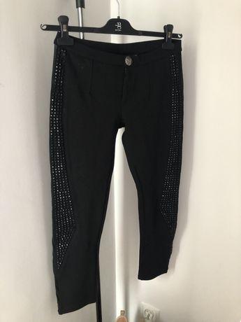 Nowe czarne spodnie Philipp Plein rozmiar S