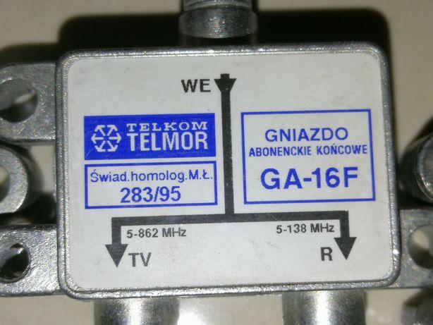 Rozgałężnik antenowy TV/Radio GA-16F TELMOR