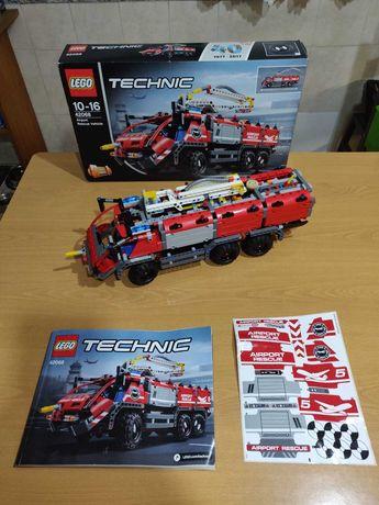 Lego Technic 42068 Airport Rescue Vehicle como novo
