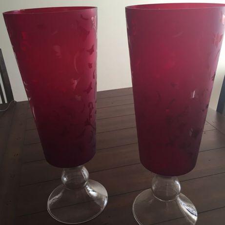 jarrões decorativos- par