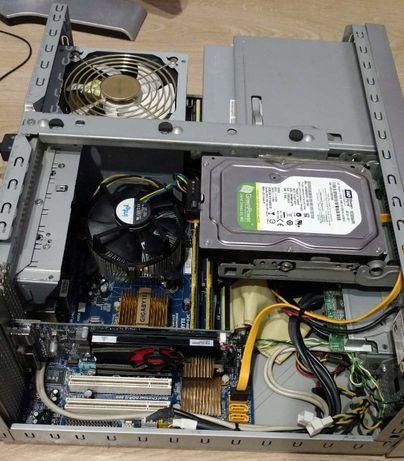 Sprawny wydajny komputer:Czterordzeniowy xeon e5420/ram4/HDD320/HD7570