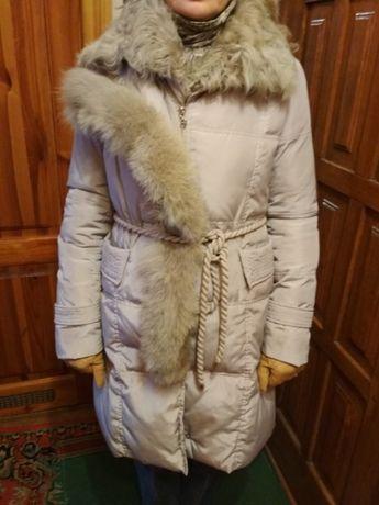Пуховик пальто в идеальном состоянии после химчистки